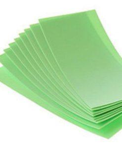 Термоусадочная трубка зеленая